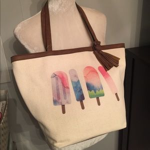 Style & Co Canvas Tote